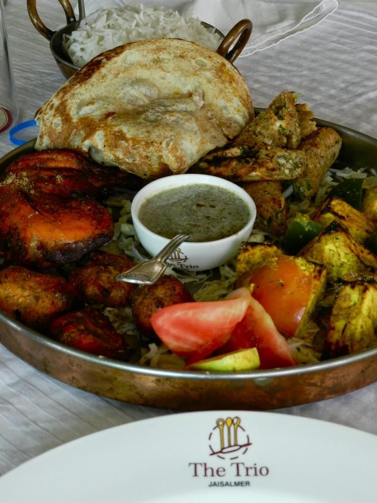 Chicken Tandoor no The Trio
