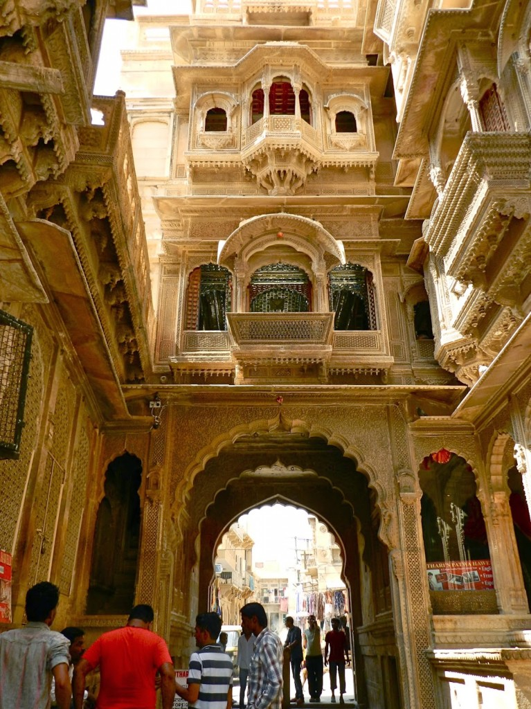 33 havelis jaisalmer fort rajasthan india