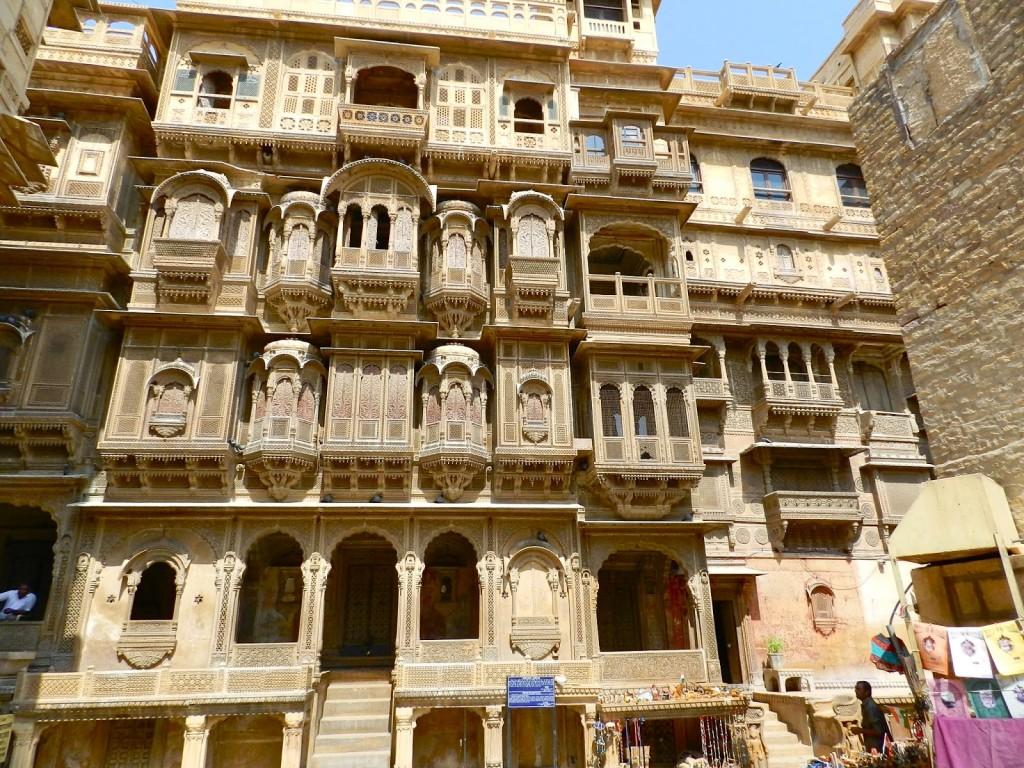 36 havelis jaisalmer fort rajasthan india