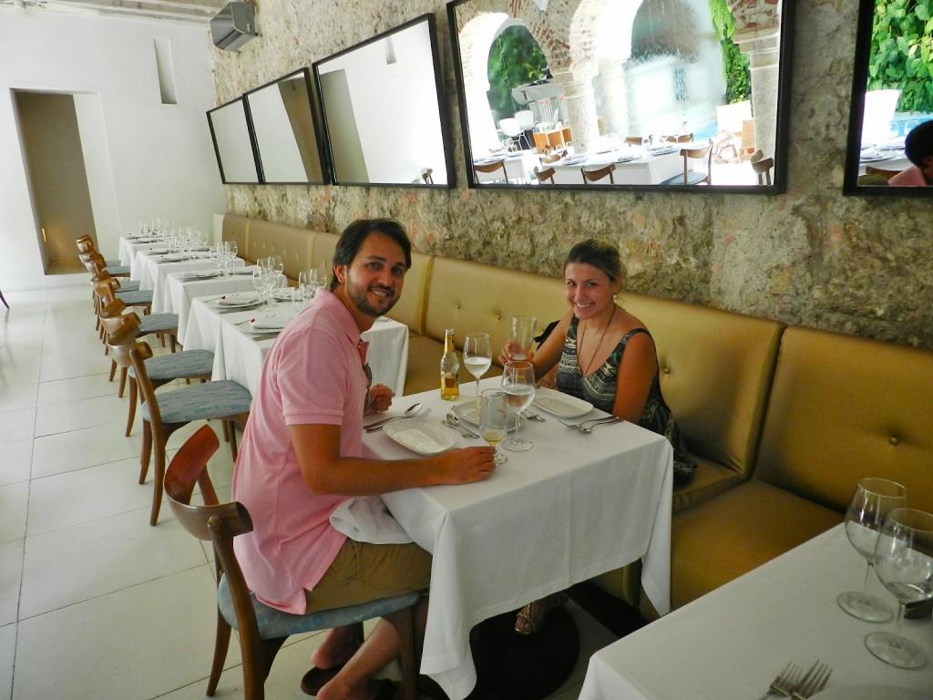 02 VERA restaurante italiano Tcherassi Hotel Spa dicas de Cartagena das Indias colombia caribe onde ficar o que fazer onde comer