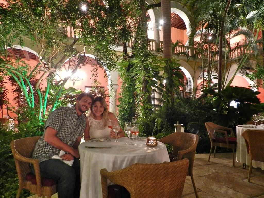 Mesa no jardim (antigo convento, maravilhoso!) | Restaurante 1621