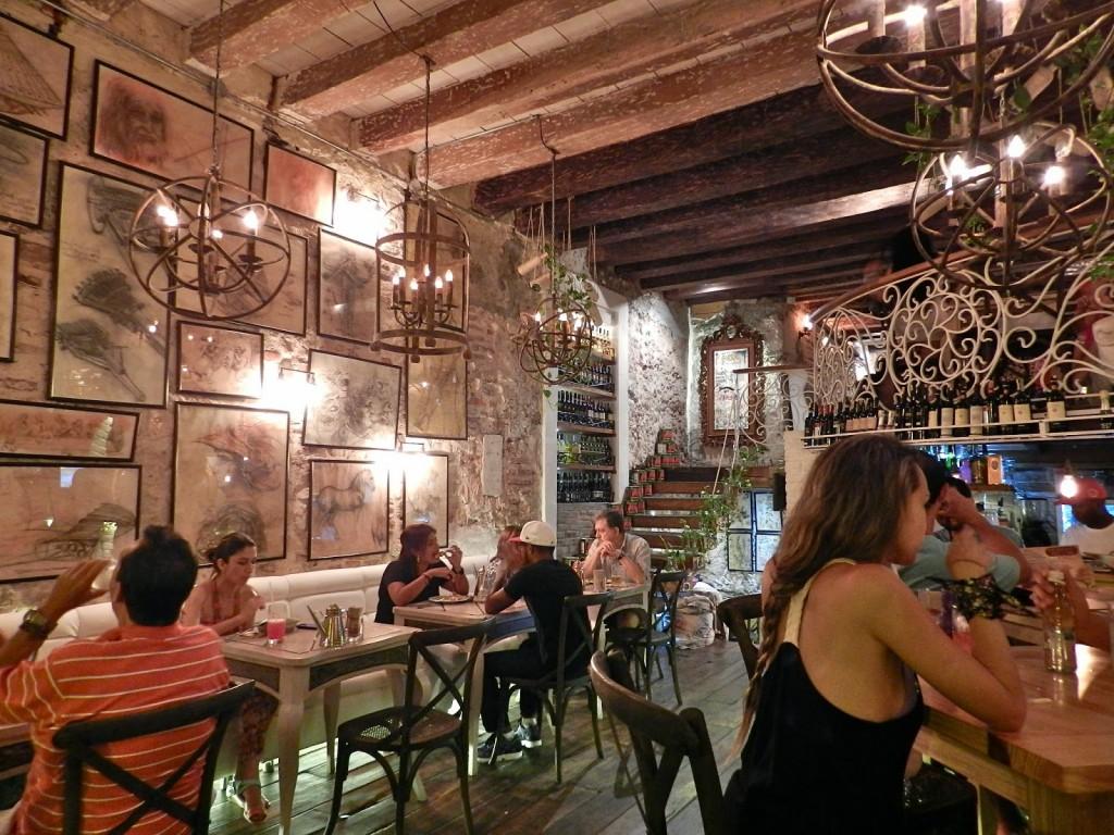 06 Restaurante LA DIVA Pizzeria Napoletana pizzaria pizza melhor pizza dicas de Cartagena das Indias colombia caribe onde ficar o que fazer onde comer
