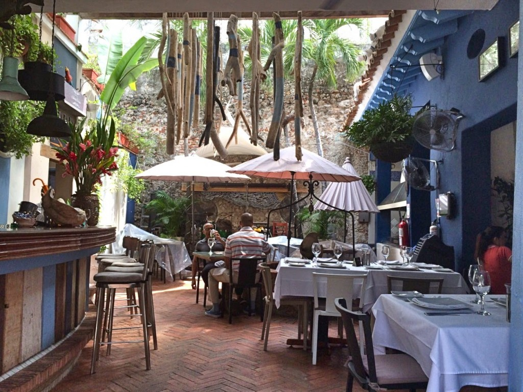 09 Restaurante JUAN DEL MAR frutos do mar peixes mariscos melhores restaurantes dicas de Cartagena das Indias colombia caribe onde ficar o que fazer onde comer