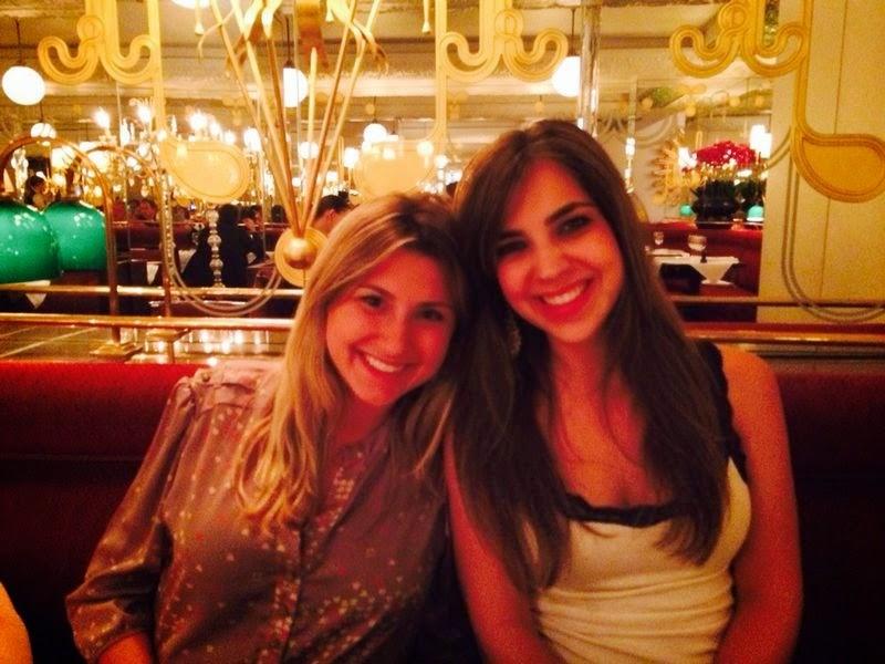 Eu e a Teca Machado