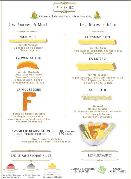 16 MAISON F batata frita restaurante dicas onde comer em paris