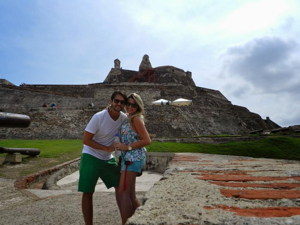 17 Castillo de san felipe de barajas - cidade murada amuralhada fortificada centro historico - Turismo tour guiado cartagena das indias colombia dicas de viagem o que fazer passeios roteiros