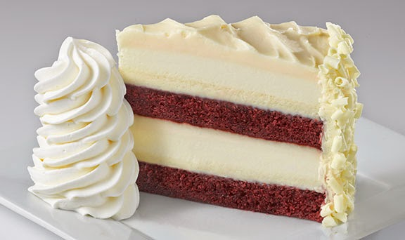 Meu preferido: Red Velvet Cheesecake | foto: thecheesecakefactory.com