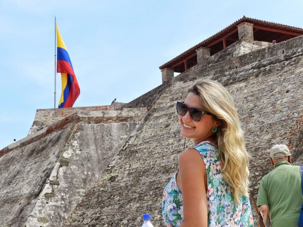18 Castillo de san felipe de barajas - cidade murada amuralhada fortificada centro historico - Turismo tour guiado cartagena das indias colombia dicas de viagem o que fazer passeios roteiros