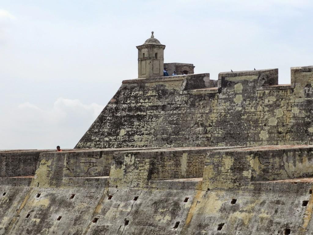 23 Castillo de san felipe de barajas - cidade murada amuralhada fortificada centro historico - Turismo tour guiado cartagena das indias colombia dicas de viagem o que fazer passeios roteiros