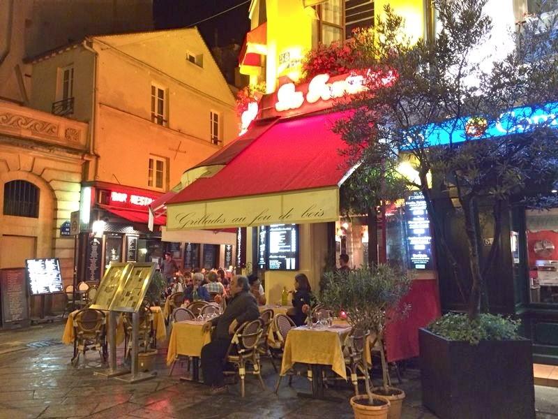Restaurantinhos da Rue Mouffetard