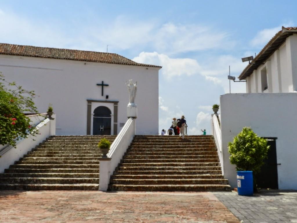 28 Cerro morro e convento de la popa - cidade murada amuralhada fortificada centro historico - Turismo tour guiado cartagena das indias colombia dicas de viagem o que fazer passeios roteiros