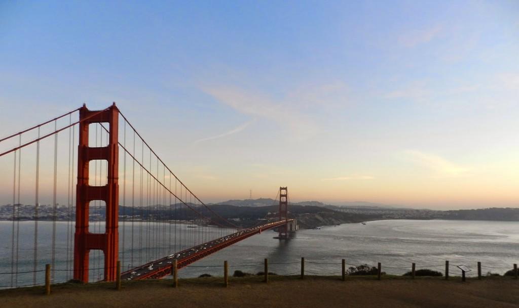 41 sunset por do sol Conzelman Road golden gate bridge ponte san francisco dicas o que fazer de viagem