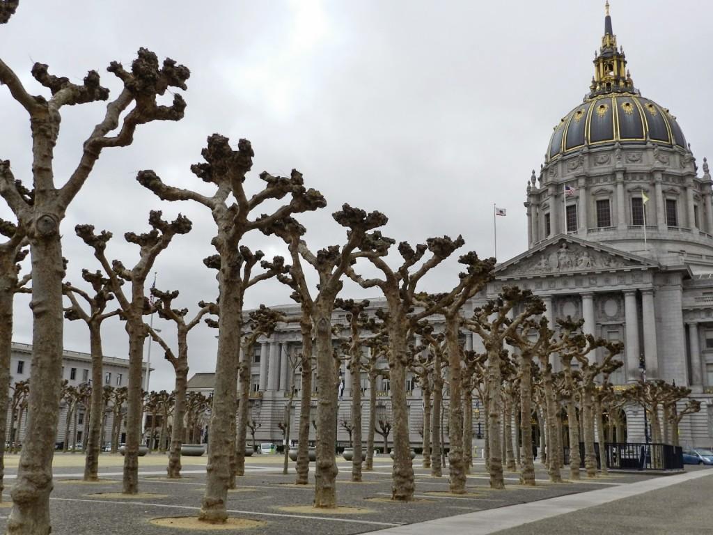 66 civic center UN Plaza City Hall o que fazer san francisco dicas o que fazer de viagem