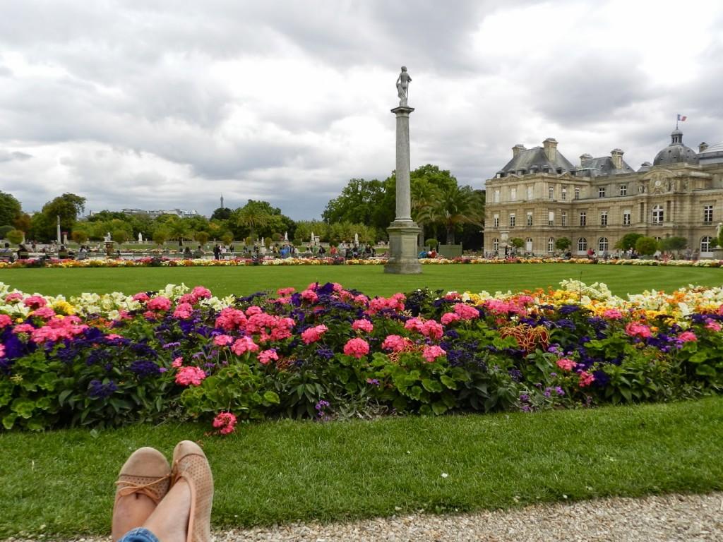 80 PASSEIO 06 Jardin jardim du luxembourg luxemburgo primavera - dicas o que fazer em paris roteiros de viagem