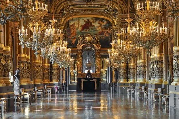 Interior da Opéra - Palais Garnier | foto: europeantrips.org