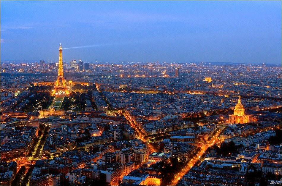 Paris vista da Torree Montparnasse | foto: panoramio.com