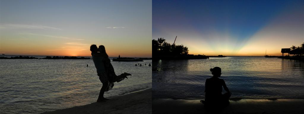 por do sol CURACAO mambo beach dicas viagem