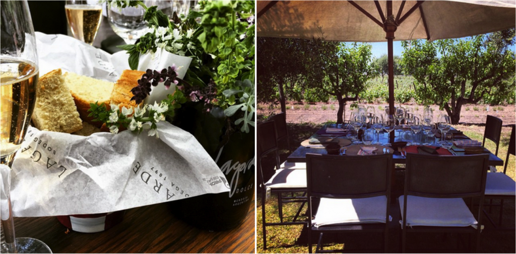 Restaurante da Bodega Lagarde | fotos: Instagram @lagardewine