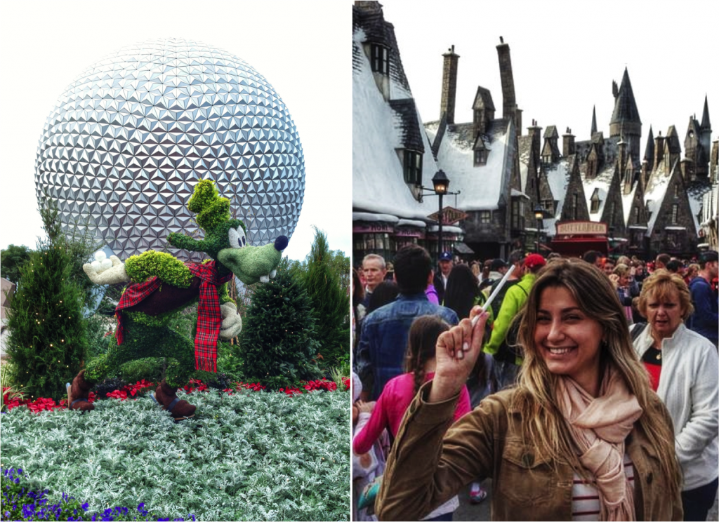 Epcot Center & The Wizarding World of Harry Potter, no Universal's Islands of Adventure