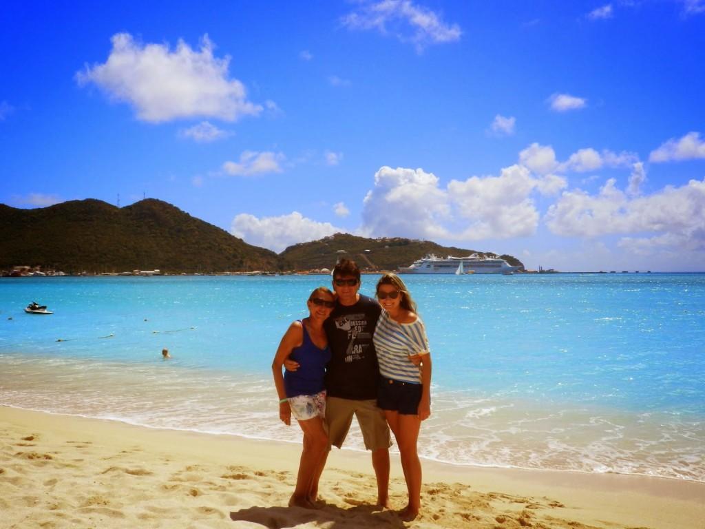Praia Great Bay, em St. Maarten