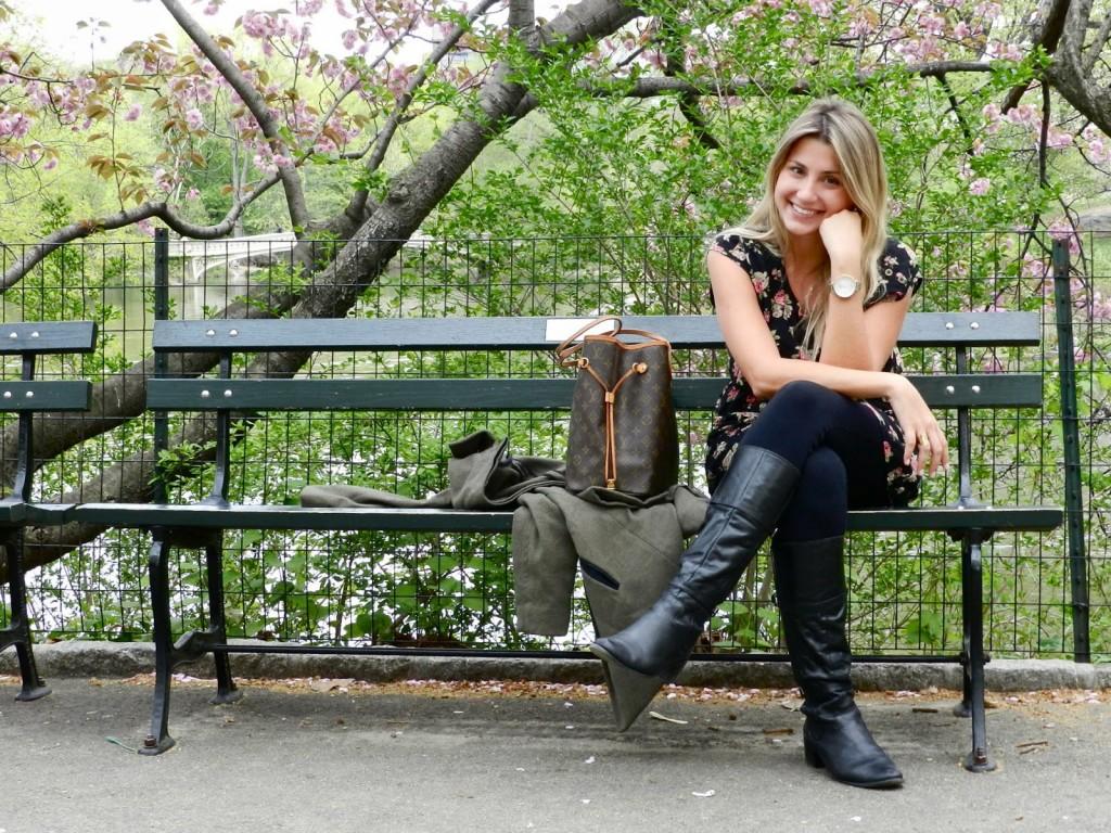 Central Park na primavera, NYC