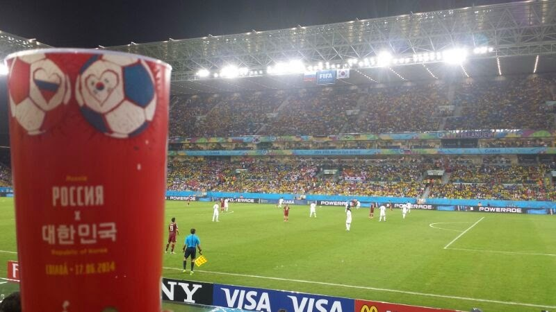 Jogo Rússia x Coréia na Arena Pantanal, Copa do Mundo 2014