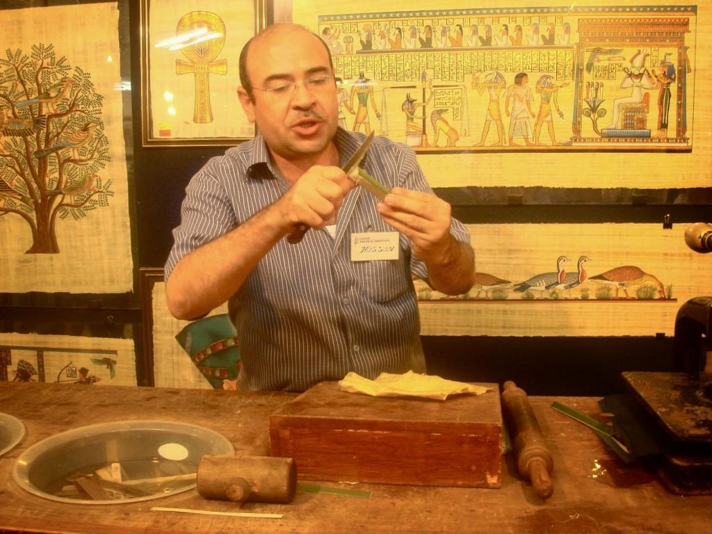 Demonstração de fabricação de Papyrus