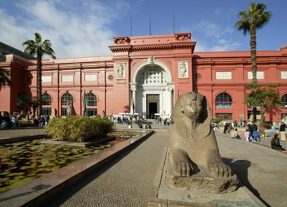 Edifício do Museu do Cairo | foto: arabacademy.com
