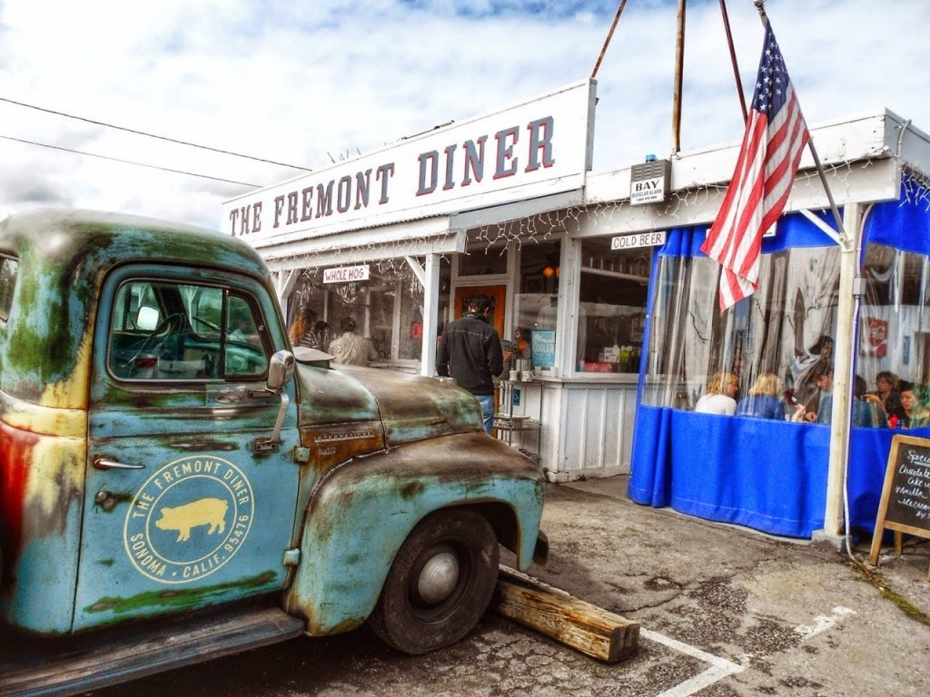 08 The Fremont Diner - restaurantes Sonoma Napa Valley - blog lalarebelo dicas de viagem 1