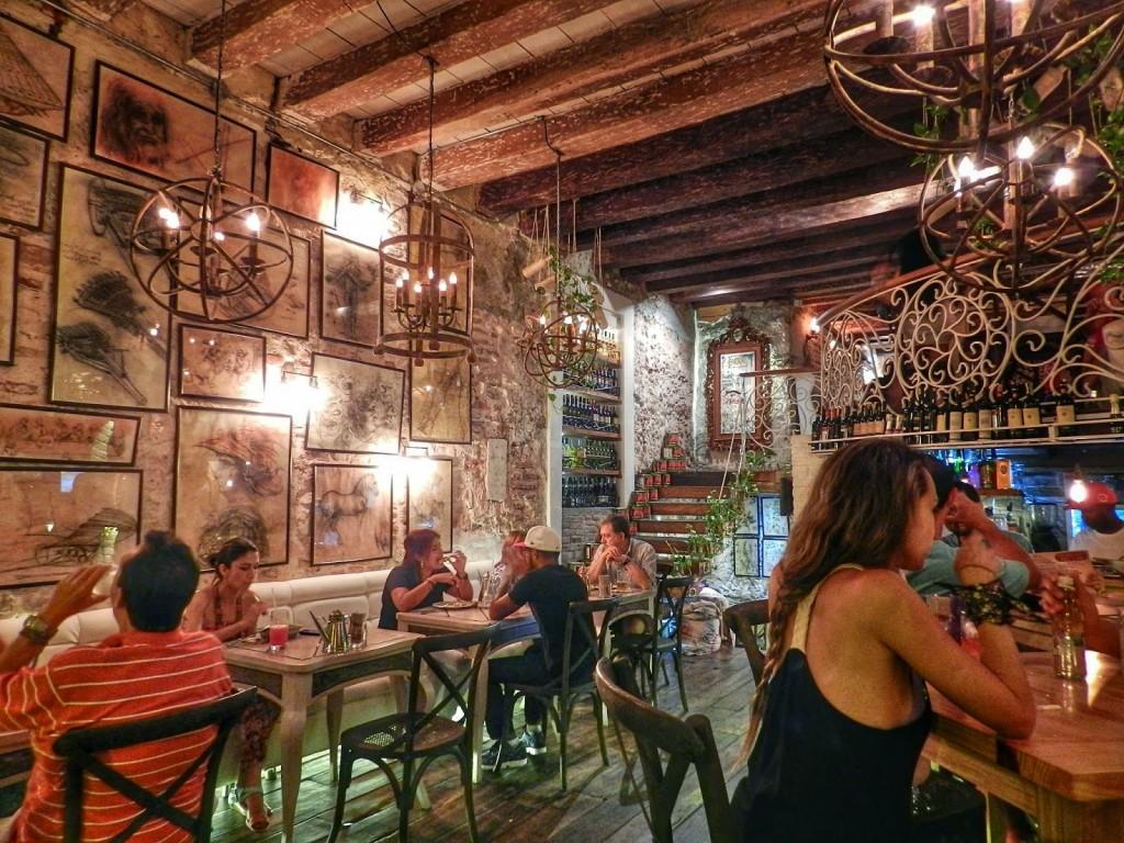 09 La DIVA Pizzeria - restaurantes Cartagena das Indias - Colombia - blog lalarebelo dicas de viagem 5