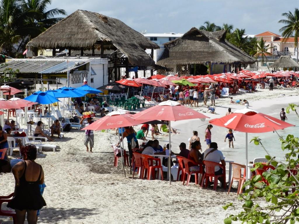 """Parte de """"vida real"""" na Zona Hotelera de Cancún"""