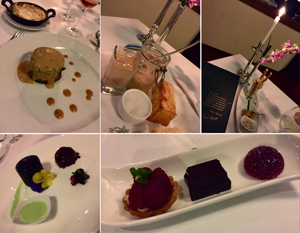 Pratos no restaurante Le Basilic | fotos: Giovana Moraes