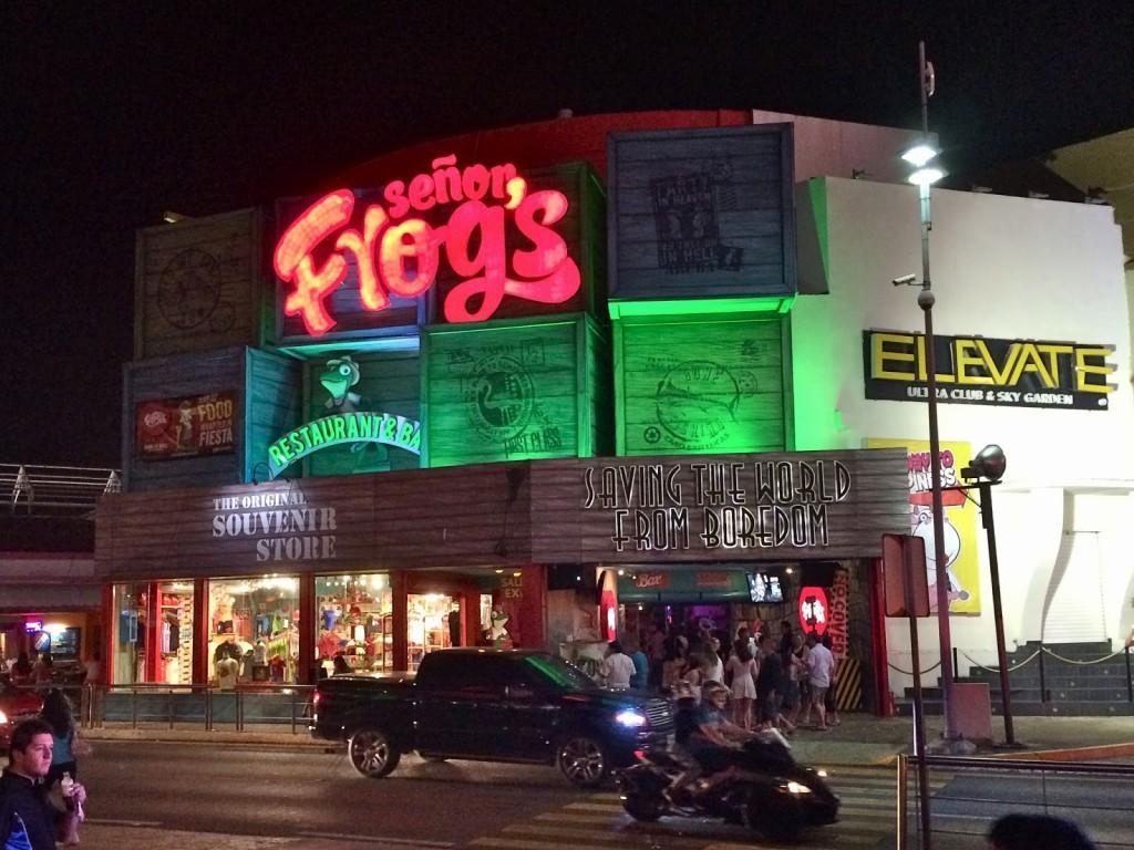 Senor frogs cancun mexico blog lalarebelo dicas de viagem