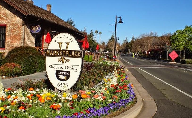V Marketplace, em Yountville