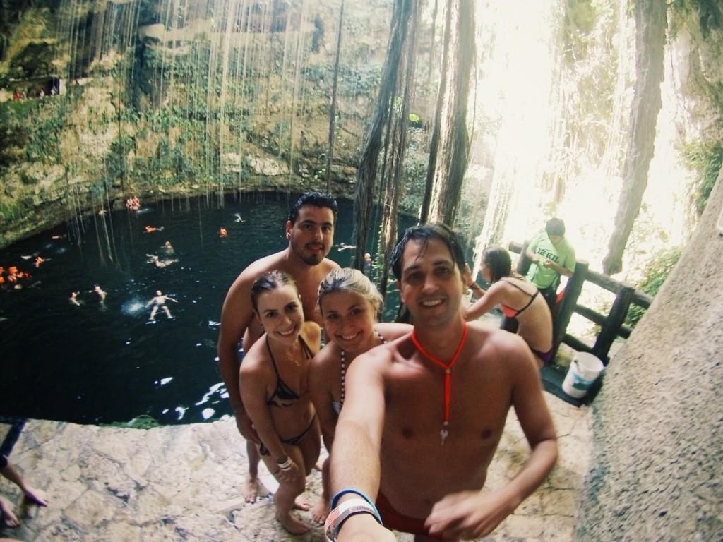 cenote ik kil mexico cancun chichen itza blog lalarebelo04