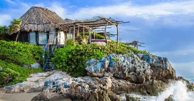 Hotel Azulik, em Tulum | foto: azulik.com