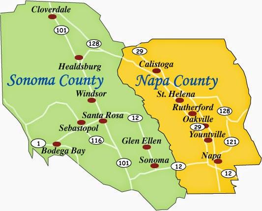 dicas de napa valley sonoma california