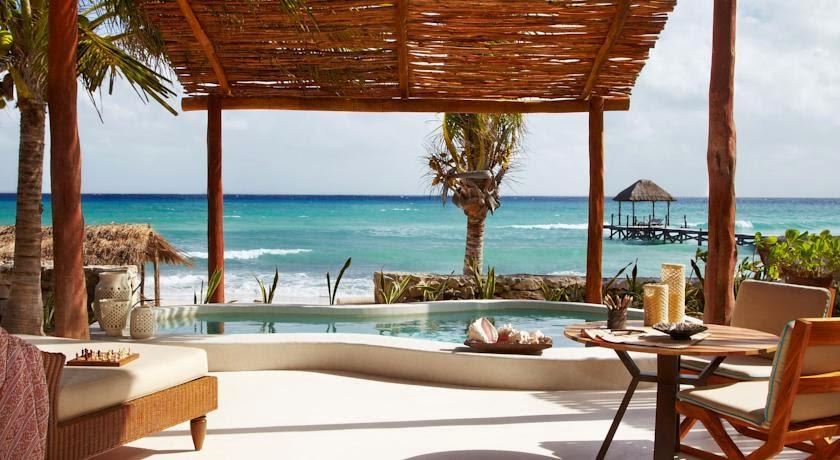 Hotel Viceroy Riviera Maya, em Playa del Carmen | foto: booking.com