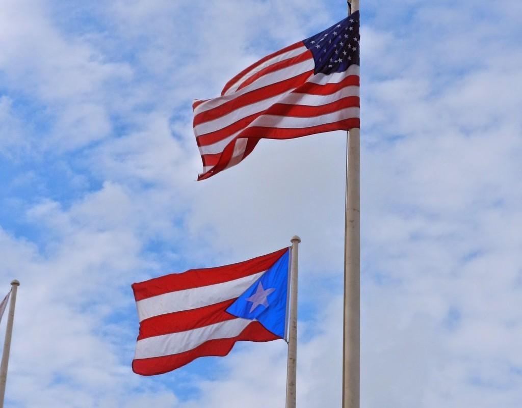 dicas de porto rico - bandeira estados unidos