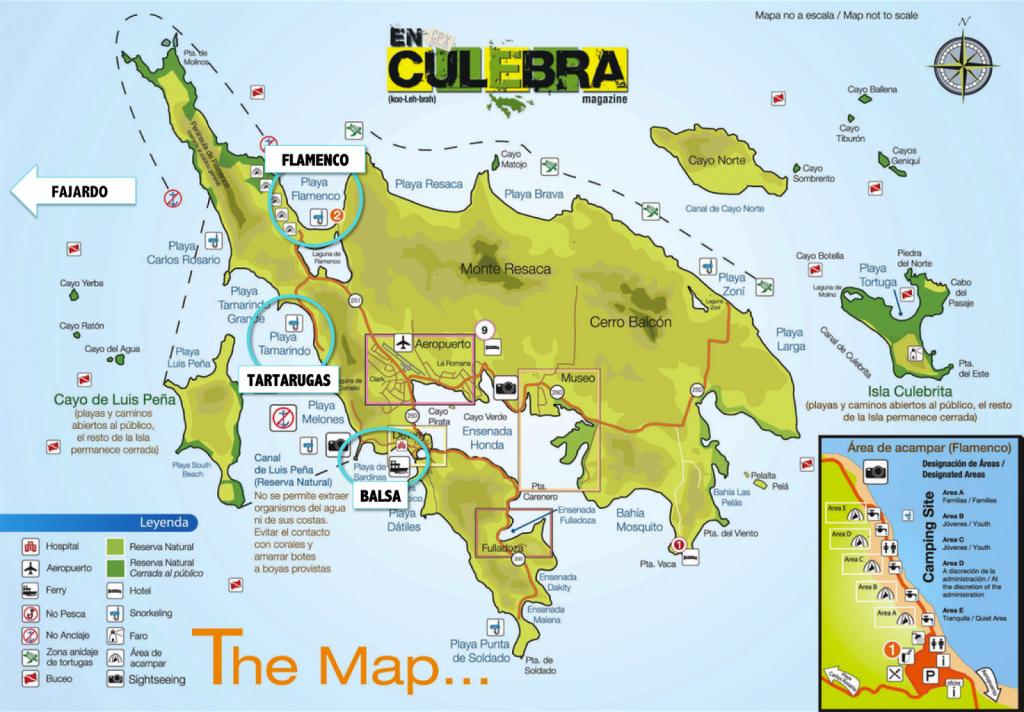 MAPA ISLA CULEBRA BLOG LALAREBELO PORTO RICO