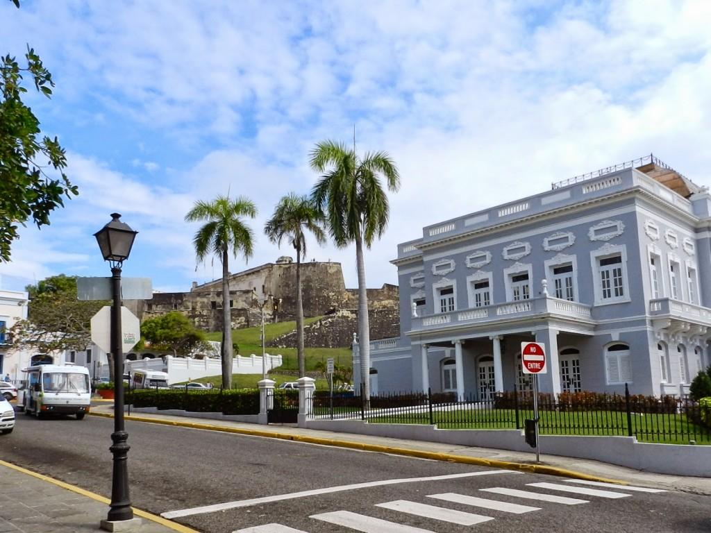Teatro e Castillo de San Cristóbal