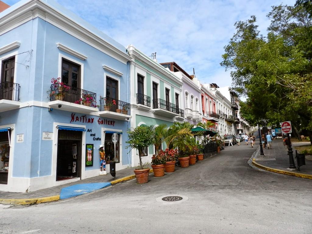 Pelas ruas de Viejo San Juan...