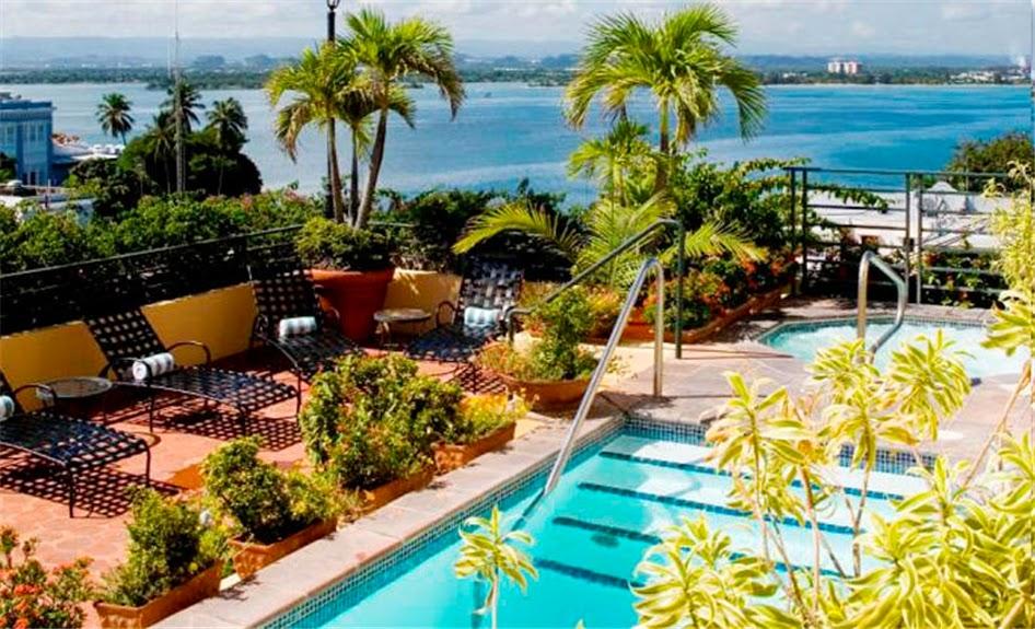 Piscina e jacuzzi no terraço | foto: elconvento.com
