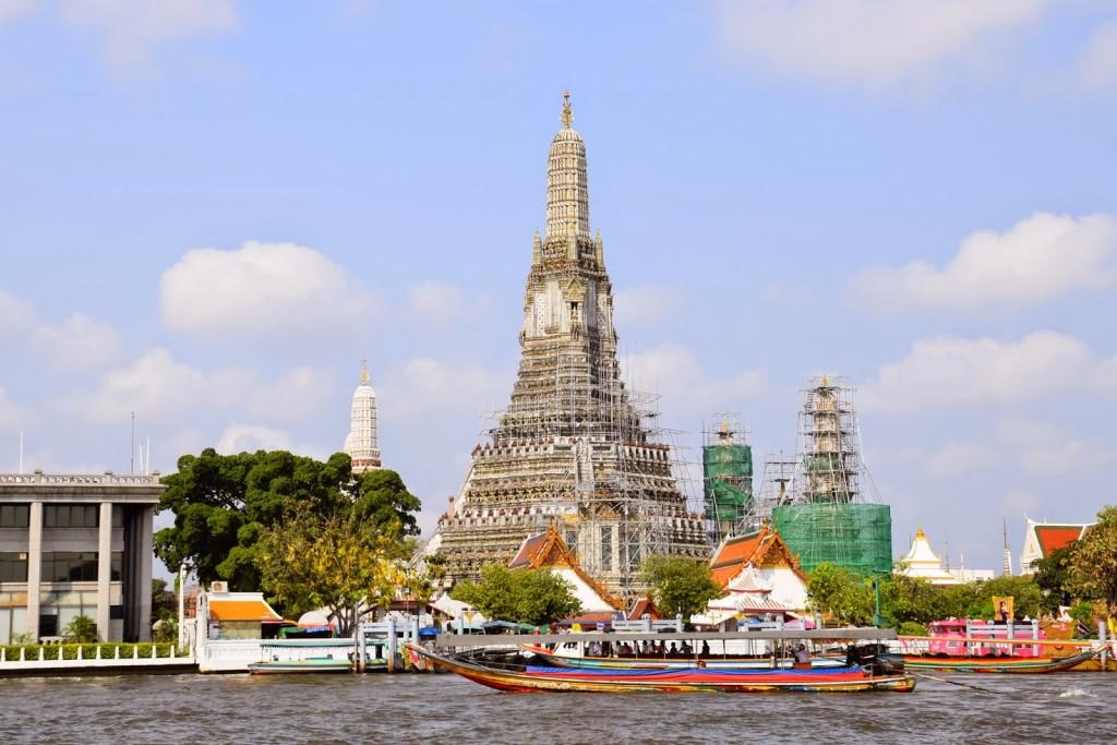 01-2 Wat Arun - temple of dawn - dicas o que fazer bangkok viagem templos