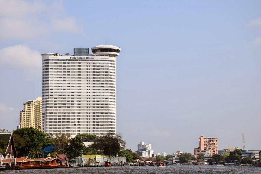 01 Millennium Hilton Hotel Bangkok riverside rio Chao Phraya River - dicas de viagem Tailandia - onde ficar