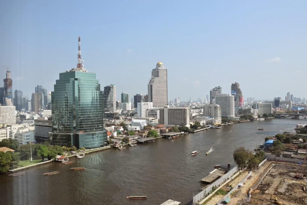 Rio Chao Phraya River - Bangkok Tailandia - dicas de viagem
