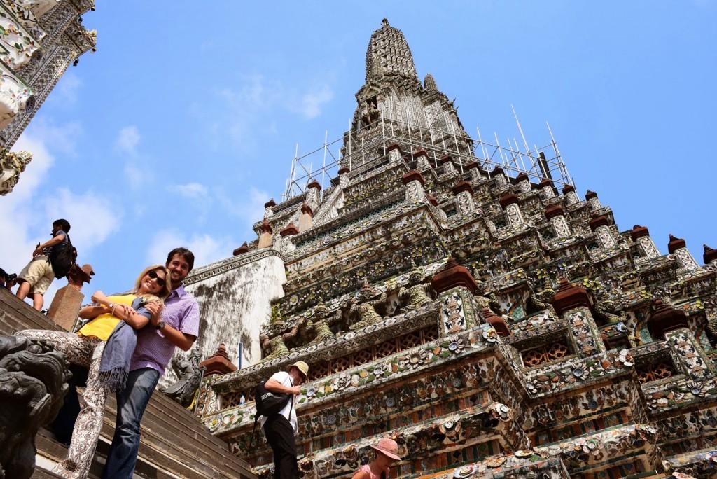 04 Wat Arun - temple of dawn - dicas o que fazer bangkok viagem templos