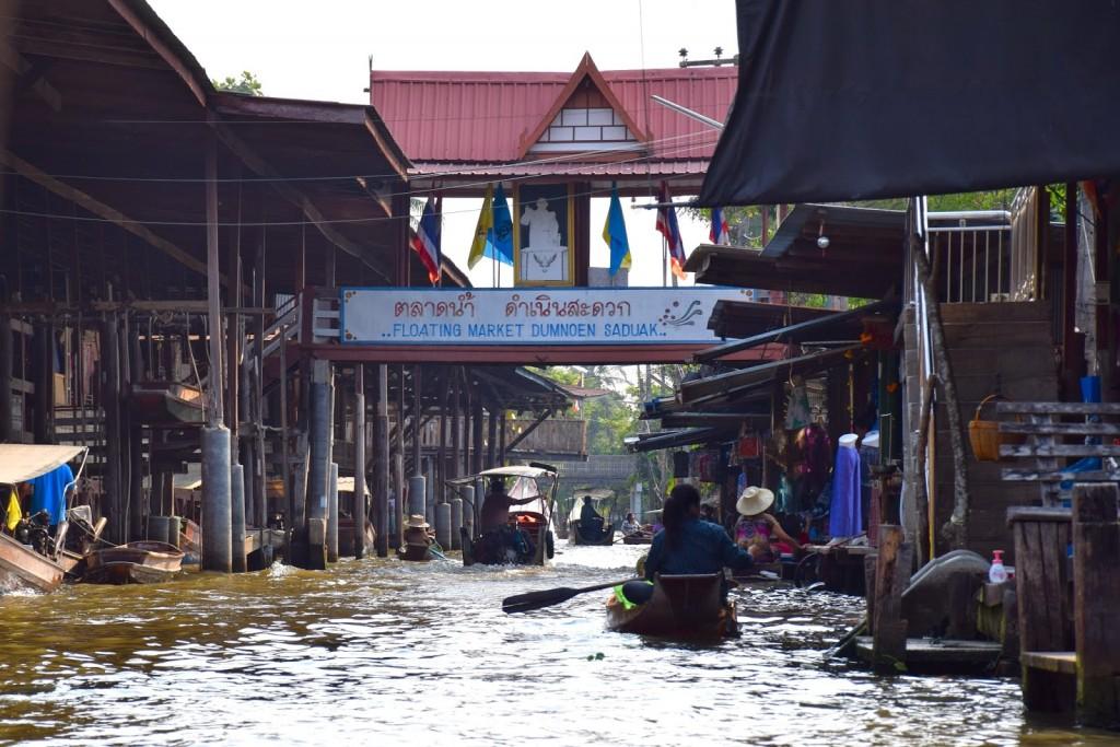 05 mercado flutuante damnoen saduak floating market - bangkok - dicas de viagem tailandia