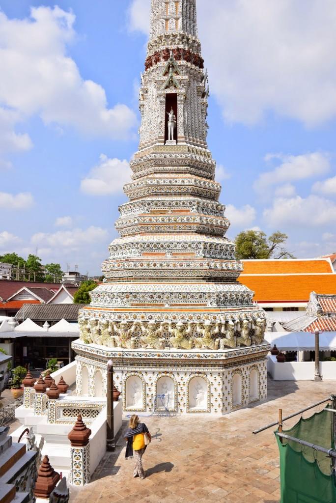 06 Wat Arun - temple of dawn - dicas o que fazer bangkok viagem templos