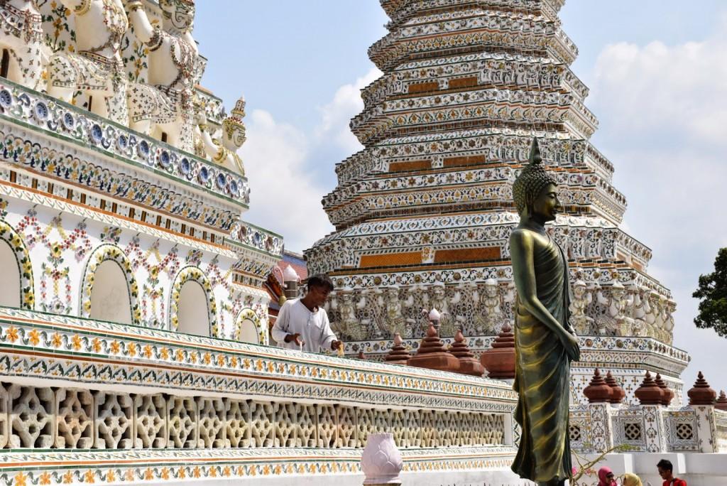 07 Wat Arun - temple of dawn - dicas o que fazer bangkok viagem templos